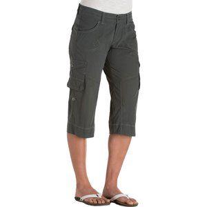 Kuhl Kontra Roll-Up Gray Hiking Shorts